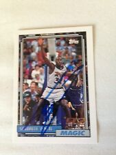 Shaquille O'Neal HOF SIGNED 92 Topps DRAFT PICK ROOKIE CARD w/COA 3 of 5 RARE