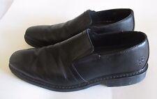 Dr. Martens Saul Black Leather Slip On Loafers Men's Sz 13