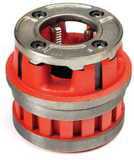 "Toledo Pipe 37400 1"" NPT Right Hand Die Head & HSS Dies fits RIDGID® 12R 37490"