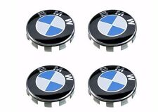 4 Pcs BMW Emblem Logo Badge Hub Wheel Rim Center Cap 68mm