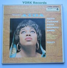LSC 6158 - VERDI - Aida PRICE / VICKERS / GORR / TOZZI - Ex 3 LP Record Box Set