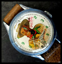 Collectible Gene Autry Windup Watch Circa 1948 - Needs Service or For Parts Only