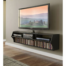 Floating TV Stands Flat Screens 58 In Modern Wall Mt. Space Saver Storage  Media