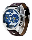Fashion Mens Luxury Date Stainless Steel Band Quartz Sport Analog Wrist Watches