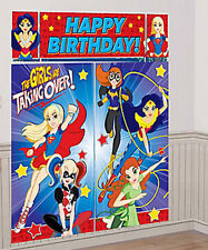 DC Super Hero Girls Scene Setter Wall Poster Decoration Birthday Party Supplies