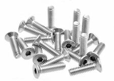 "20 X 1/4"" Stainless Steel Screw 25mm/1"" Long for Tripod Head / Clamp 4mm Hex"
