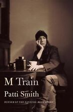 Patti Smith M Train Signed Book With Autographed Tip-In Page Hardcover Book
