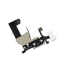 iPhone 5 5G USB Charging Dock Port & Mic & Headphone Jack Flex Cable Black+Tools