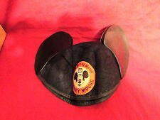 Vintage 1980's Walt Disney World Mickey Mouse Ears cap Jimmy Stitched on back
