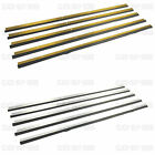 HEAVY DUTY AROUND DOOR SEAL DRAUGHT EXCLUDER EXCLUDERS SEALS ALUMINIUM GOLD NEW