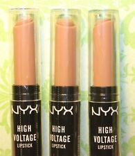 LOT of 3 ~ NYX High Voltage Lipstick ~ FLAWLESS  #HVLS10 + GIFT & Free Shipping