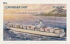 US 4551 Merchant Marine Container Ship forever single MNH 2011