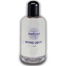 Mixing Liquid - 4.5oz. Mehron FX Adult Makeup Liquid Clear Face Body Unique New