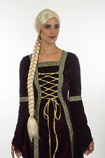 Tangled Princess Rapunzel Adult Kid Wig Super Long Braid Anime Cosplay Wig H0395