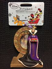 Walt Disney Disney's L/E Hanging Christmas Ornament Evil Queen Magic Mirror 3P&P