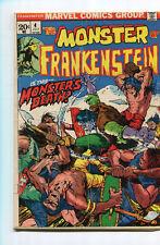 Frankenstein 4 VG-  (1973) MArvel Comics CBX1F
