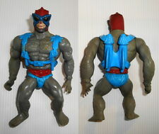 Figurine vintage Maîtres de l'univers MOTU Mattel 1981 Stratos blue pack France