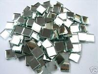 *100 x 10mm  3mm Thick Glass Silver Mosaic Mirror Tiles