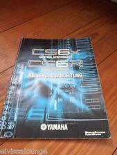 Yamaha cs6x cs6r manual de instrucciones