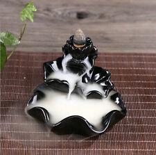 Ceramic Incense Burner Feng Shui Tibet Holder Buddhist Censer 20#
