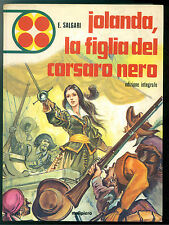 SALGARI EMILIO JOLANDA LA FIGLIA DEL CORSARO NERO MALIPIERO 1974 RACCONTI 35