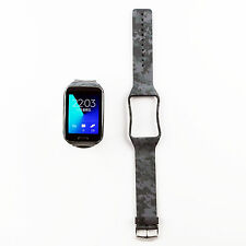Gray Camo Style Replacement Wrist Strap Band For Samsung Galaxy Gear S SM-R750