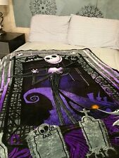 Nightmare Before Christmas NBX PLUSH blanket throw SOFT New Jack Skelington Zero