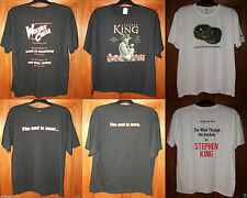 T SHIRTS Stephen King DT5 WOLVES DT7 DARK TOWER DT8 WIND THROUGH KEYHOLE NEW