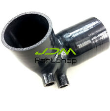 Black Silicone Air Filter Intake Pipe Hose For BMW E36 M/S52 325 328 M3 Z3