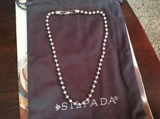 SILPADA N0194  5mm Ball Bead Sterling Silver Pendant Necklace N0194 RARE
