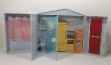 2005 Totally Real Barbie Doll Fold Up House With Sounds