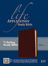 Life Application Study Bible: King James Version by Tyndale House...