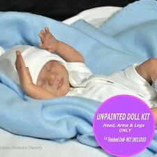 Reborn Baby Doll Kit - Vinyl unpainted kit to make your own baby -preemie Caleb
