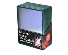 (25) Ultra Pro Green Border ACEO Toploaders 3x4 Topload Trading/Art Card Holder