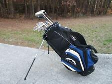 Mizuno Mens RH Golf Club Set + PW, SW, FW + Bag Callaway Driver & Woods GR8 DEAL