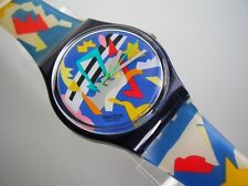 """SWATCH GENT """"SILVER PATCH"""" +NEUWARE+"""