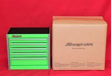Snap On  Extreme Green Mini Bottom Roll Cab Tool Box - Brand New