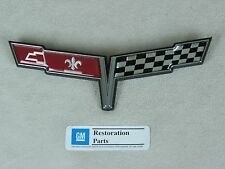 New 1980 80 Corvette Front Nose Emblem - GM Restoration Parts