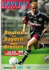 Bayern Magazin 6/49 , Bayern München - Werder Bremen , 25.10.1997