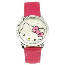 Reloj HELLO KITTY  magenta  kitty watch   A1090