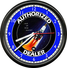 AC Delco Spark Plugs Mechanic Garage Sign Wall Clock