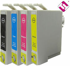 PACK 10 INK T0711 T0712 T0713 T0714 PRINTER CARTRIDGES INKS NONOEM-EPSON