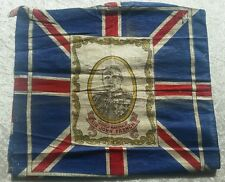 Genuine WW1 field marshall Sir John French Union jack flag MUST SEE
