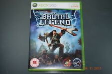 Brutal Legend Xbox 360 UK PAL **FREE UK POSTAGE**