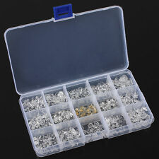 300pcs Silicone Eyeglass Sunglasses Spectacles Screw On Nose Pads Repair Tool