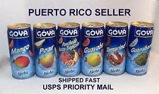Goya Guanabana Fruit Nectar Juice Puerto Rico Refresco ColdDrink Beverage Food12