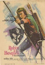 Programa PUBLICITARIO de CINE: ROBIN DE LOS BOSQUES.