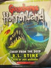 Creep From The Deep Audio CD Book #2-R. L. Stine-Goosebumps Horrorland
