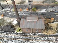 HO Roco Minitanks Custom Detailed Weathered Power Plant