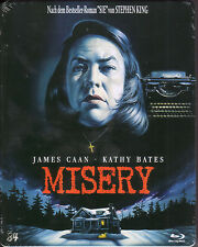 Misery_Stephen King _James Caan_Kathy Bates_ Limited Steelbook BD_Neu !